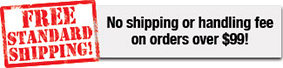Get Free Shipping with Your Order over $99!